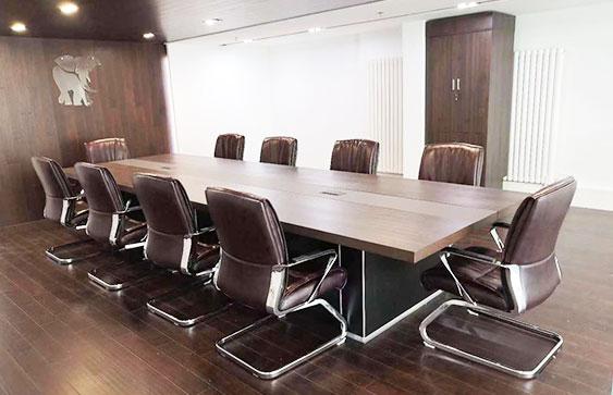 北京办公家具整体定制 装修界圣象地板采购案例